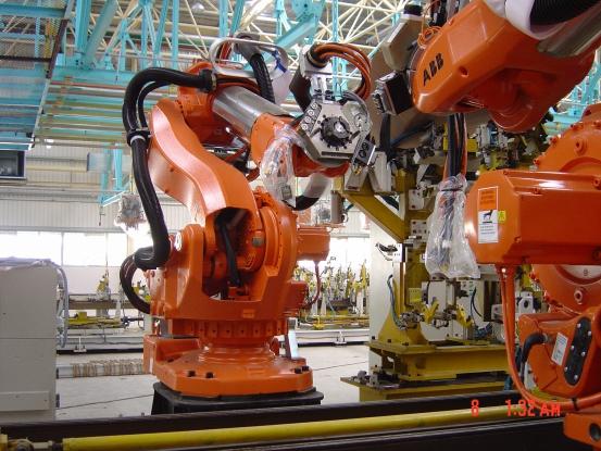 一汽海马机器人安装工程