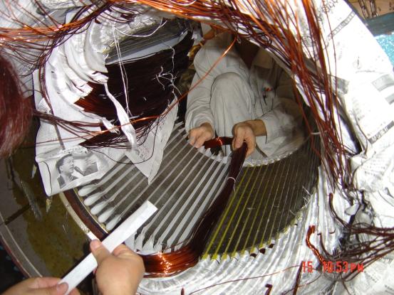 400千瓦直流电机维修