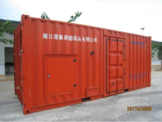 集装箱移动发电机组