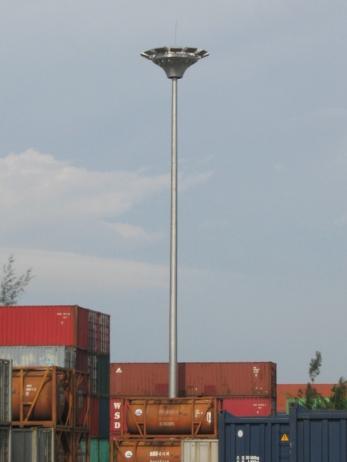 高杆灯安装工程