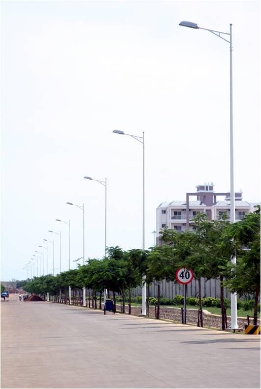厂区路灯安装工程