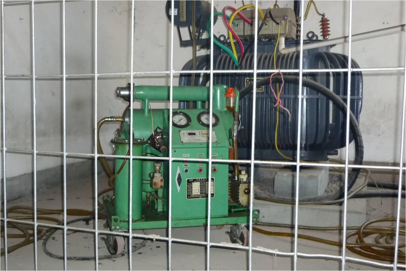 油浸式变压器带电滤油